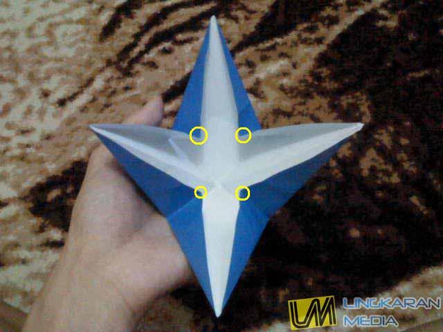 Cara Membuat Origami Cakar | Origami Alat - YouTube | 480x640