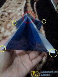 origami burung LM7