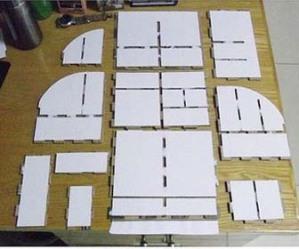 Setelah semua bentuk lengkap, satukanlah bagian perbagian sehingga ...