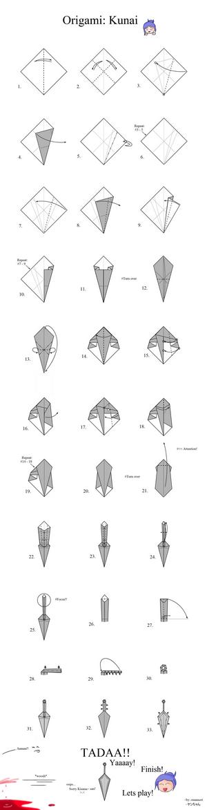 Как сделать катану схема