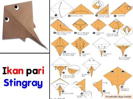 origami binatang fachris blog